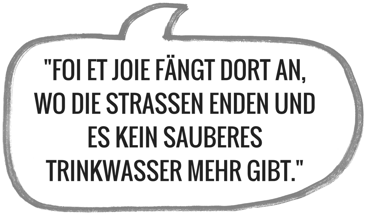 Motto des Projektpartners